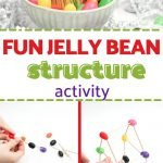 This Fun Jelly Bean Structure Activity is a simple way to encourage children's creative and critical thinking skills as they come up with their own original Jelly Bean shapes and structures.