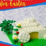 This LEGO Tomb Easter Activity can help you share the story of Christ's resurrection with your kids in a hands-on way this Easter Sunday!