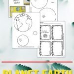 Kids can use this printable to create their own, multi-faceted lapbook about planet Earth--a perfect research tool for hands-on learners!