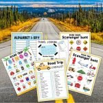 This printable Road Trip Activity set is full of family-friendly activities to keep your kids engaged on your next road trip!