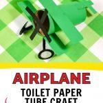 This is a fun and easy airplane craft that you can make using supplies that you probably already have at home. Great for all ages!