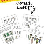 This printable research booklet will give you a chance to talk to your children about some of the extraordinary women in STEM...and encourage them to do some research of their own!
