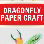 This simple DIY dragonfly papercraft is a fun summertime craft to use with kids of all ages. You can also use it to go with your insect study!