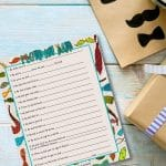 Help your young children complete this fun Father's Day questionnaire for Dad! You'll treasure their answers for years to come! The younger the child, the more honest and heartfelt (and amusing!) the answers.
