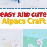 Learning about alpacas (or farm animals in general?) This cute and easy alpaca craft makes a great addition to your studies!