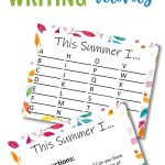 Use this printable writing activity to help your child reflect on the fun memories he or she made this summer! This one is great for K - 2nd/3rd grade level students for writing and spelling practice!