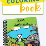 This 15 page printable Zoo Animal Coloring Book is the perfect independent activity to engage young learners (toddlers -kindergarten level).