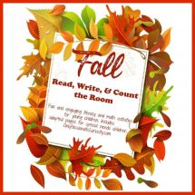 fall read, write, and count the room